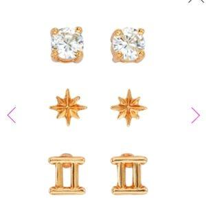 New! ♊ Gemini stud earrings